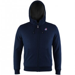 K-WAY Quentin Orsetto Fleece Depht Blue/Antracite
