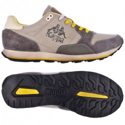 KAPPA AUTHENTIC DERSAN - Brown Mud-Yellow