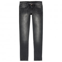 SUN68 PANTALONI WOMAN BLACK DENIM - nero