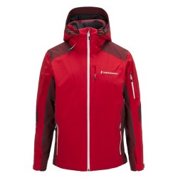 PEAK PERFORMANCE GIACCA SCI UOMO MAROON BLOCK - RED