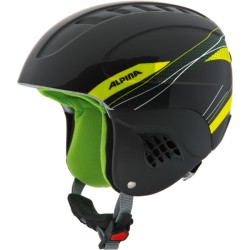ALPINA CASCO CARAT JUNIOR - black green