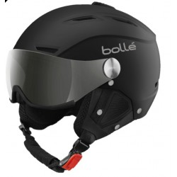 BOLLE BACKLINE VISOR SOFT BLACK & SILVER
