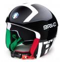 HELMET BRIKO VULCANO FIS 6.8 FISI - BLACK & WHITE