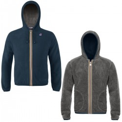 K-WAY JACQUES POLAR FLEECE - Blue D-Smoke