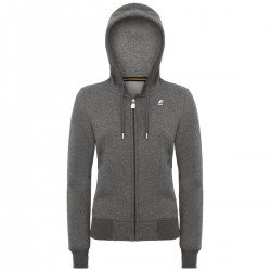 K-WAY GAELLE FLEECE - Grey Md Mel