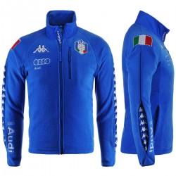 KAPPA PILE FISI ITALIA 2018 UOMO 6CENTO 687  - Azzurro Italia