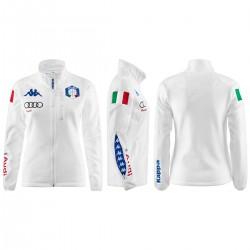 KAPPA PILE FISI ITALIA 2018 DONNA 6CENTO 688  - White