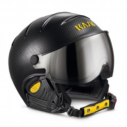 KASK CASCO PRO CARBON/BLACK YELLOW