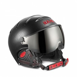 KASK CASCO PRO PHOTOCHROMIC CARBON/BLACK RED