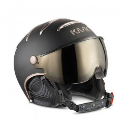 KASK CASCO CHROME Black/Pink Gold