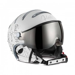 KASK CASCO ELITE LADY CACHEMIRE - White