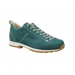 DOLOMITE 54 LOW - Teal Green/Canapa Beige