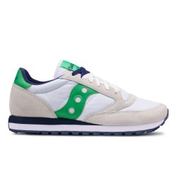 SAUCONY ORIGINALS - JAZZ O - Bianco/Verde