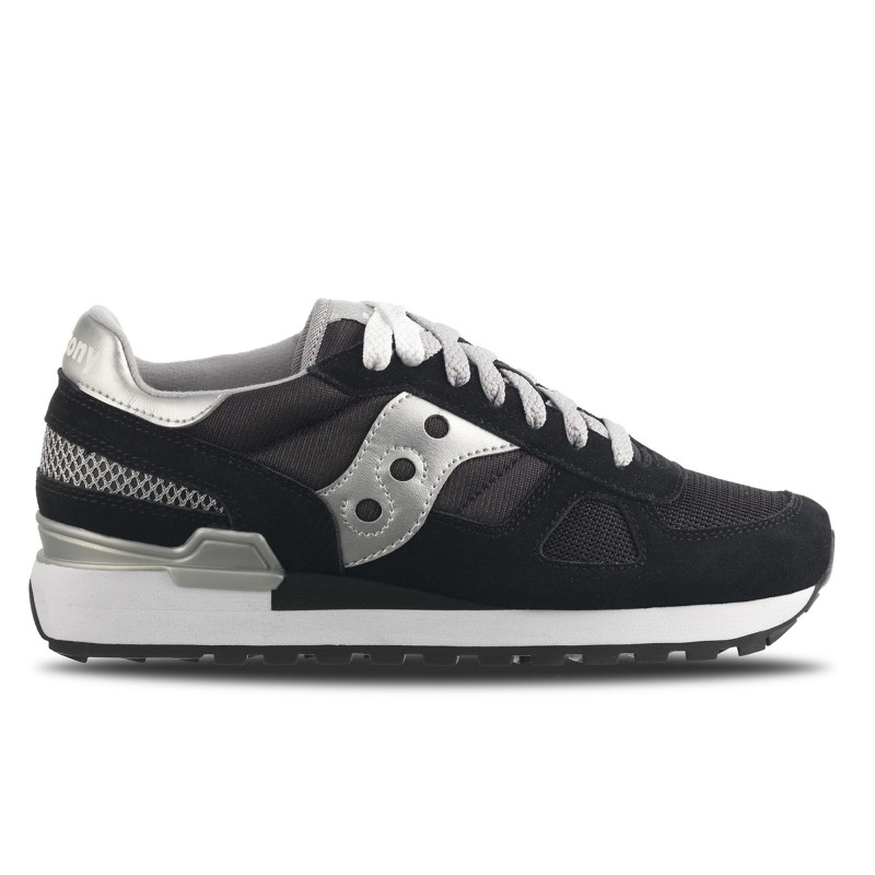 SAUCONY ORIGINALS SHADOW O W Nero/Argento