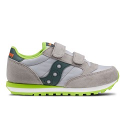 SAUCONY ORIGINALS - JAZZ ORIGINAL KIDS - Grigio/Verde Scuro