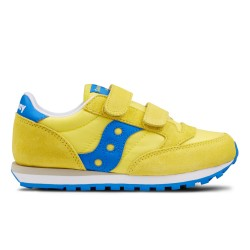 SAUCONY ORIGINALS - JAZZ ORIGINAL KIDS - Giallo/Blu Cobalto