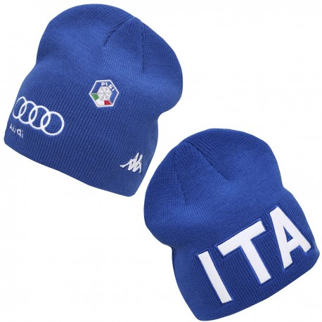 KAPPA BERRETTO 6CENTO SPIKE FISI ITALIA - Azzurro ITALIA