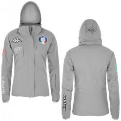 KAPPA GIACCA SCI FISI ITALIA 2018 DONNA 6CENTO 652  - Grey-Silver