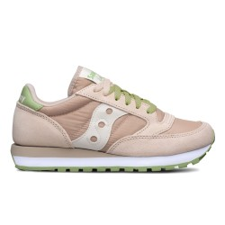 SAUCONY ORIGINALS - JAZZ O W - Blush/Green/Cream