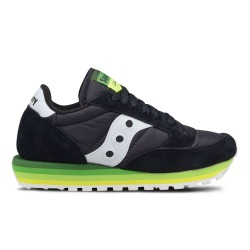 SAUCONY ORIGINALS - JAZZ O W RAINBOW - Black/Green