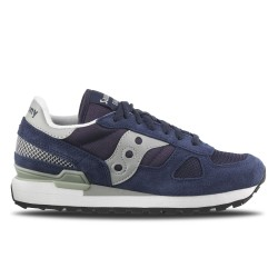 SAUCONY ORIGINALS - SHADOW O - Blu Navy/Grigio