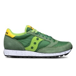 SAUCONY ORIGINALS - JAZZ O M - Verde/Giallo