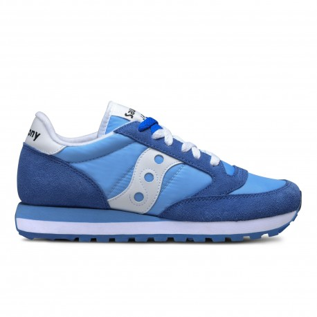 SAUCONY ORIGINALS - JAZZ O W - Blu/Bianco