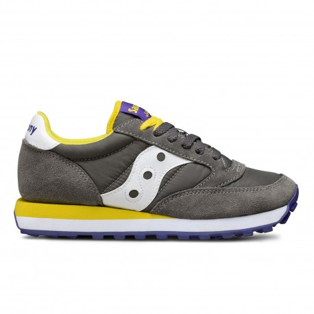 SAUCONY ORIGINALS - JAZZ O W - Tortora/Giallo