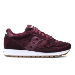 SAUCONY ORIGINALS - JAZZ O W - Bordeaux Camouflage
