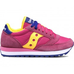 SAUCONY ORIGINALS - JAZZ O W - Pink/Yellow