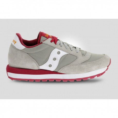 SAUCONY ORIGINALS - JAZZ O W - Grey/Red