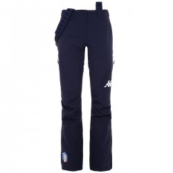 KAPPA PANTALONE SCI DONNA FISI ITALIA 2020 6CENTO 665 - Blue Night/Blue Night