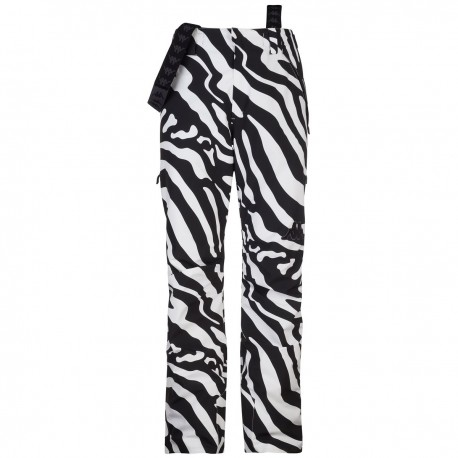 KAPPA PANTALONE SCI UOMO 2020 6CENTO 622P - Black White Zebra