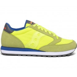 SAUCONY ORIGINALS - JAZZ O M - Citron/Blue
