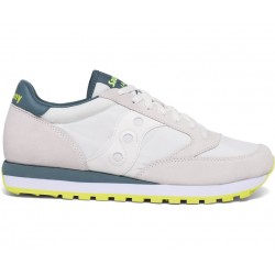 SAUCONY ORIGINALS - JAZZ O M - Light Grey/Blue