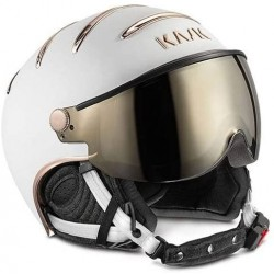 KASK CASCO CHROME White/Pink Gold