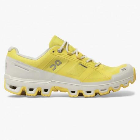 ON Cloudventure Waterproof W - Mustard/Pearl