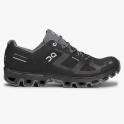 ON Cloudventure Waterproof M - Black/Graphit