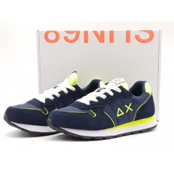 SUN68 KIDS - TOM SOLID FLUO NAVY BLUE