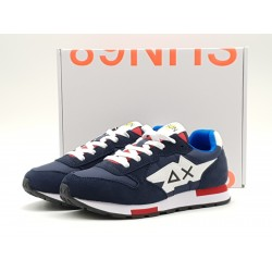 SUN68 KIDS - NIKI NYLON SOLID NAVY BLUE