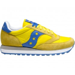 SAUCONY ORIGINALS - JAZZ O M - Yellow/Blu
