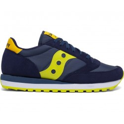 SAUCONY ORIGINALS - JAZZ O M - Navy/Yellow