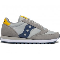 SAUCONY ORIGINALS - JAZZ O M - Grey/Yellow