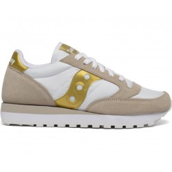 SAUCONY ORIGINALS - JAZZ O W - White/Gold