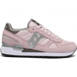 SAUCONY ORIGINALS - SHADOW O W - Pink/Brown/Silver