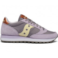 SAUCONY ORIGINALS - JAZZ O W - Purple/Yellow